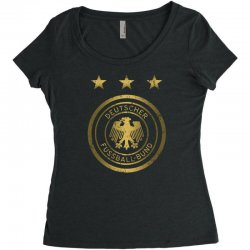 deutscher fussball bund Women's Triblend Scoop T-shirt | Artistshot