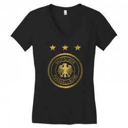 deutscher fussball bund Women's V-Neck T-Shirt | Artistshot
