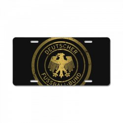 deutscher fussball bund License Plate | Artistshot