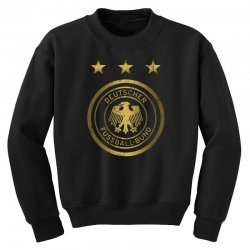 deutscher fussball bund Youth Sweatshirt | Artistshot