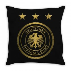 deutscher fussball bund Throw Pillow | Artistshot