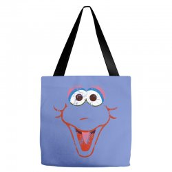 big bird face Tote Bags | Artistshot