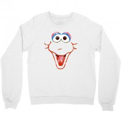 big bird face Crewneck Sweatshirt | Artistshot