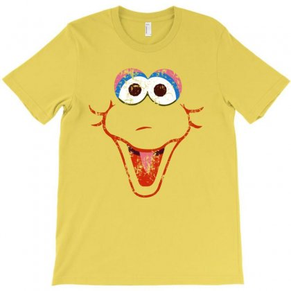 Big Bird Face T-shirt Designed By Banapeth