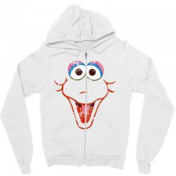 big bird face Zipper Hoodie | Artistshot