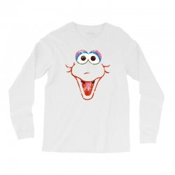 big bird face Long Sleeve Shirts | Artistshot