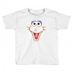 big bird face Toddler T-shirt | Artistshot