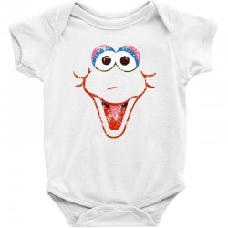 big bird face Baby Bodysuit | Artistshot