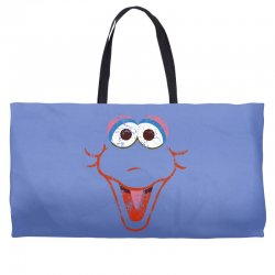 big bird face Weekender Totes | Artistshot