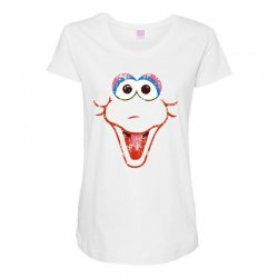 big bird face Maternity Scoop Neck T-shirt | Artistshot