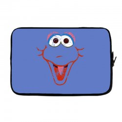 big bird face Laptop sleeve | Artistshot