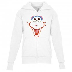 big bird face Youth Zipper Hoodie | Artistshot