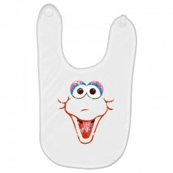 big bird face Baby Bibs | Artistshot