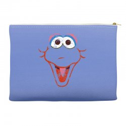 big bird face Accessory Pouches | Artistshot