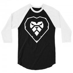 heart a lion 3/4 Sleeve Shirt | Artistshot