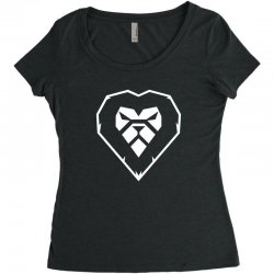 heart a lion Women's Triblend Scoop T-shirt | Artistshot