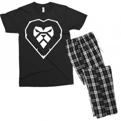 heart a lion Men's T-shirt Pajama Set | Artistshot