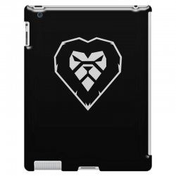 heart a lion iPad 3 and 4 Case | Artistshot