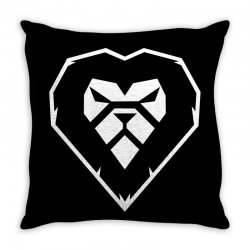 heart a lion Throw Pillow | Artistshot