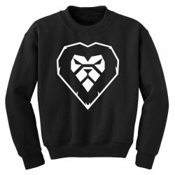 heart a lion Youth Sweatshirt | Artistshot