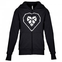 heart a lion Youth Zipper Hoodie | Artistshot