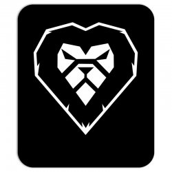 heart a lion Mousepad | Artistshot