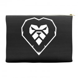 heart a lion Accessory Pouches | Artistshot