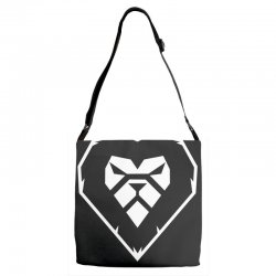 heart a lion Adjustable Strap Totes | Artistshot