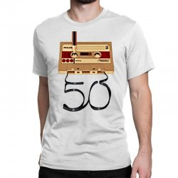 music tape retro Classic T-shirt | Artistshot