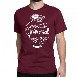 music is the universal language of mankind Classic T-shirt | Artistshot