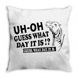 Funny line art hump day camel Throw Pillow | Artistshot