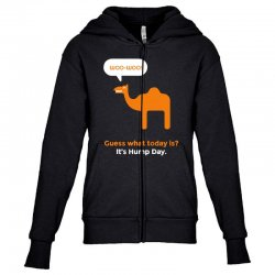 hump day camel Youth Zipper Hoodie | Artistshot