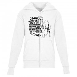 day camel Youth Zipper Hoodie | Artistshot