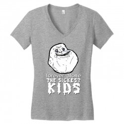 forever the sickest kids forever alone Women's V-Neck T-Shirt | Artistshot