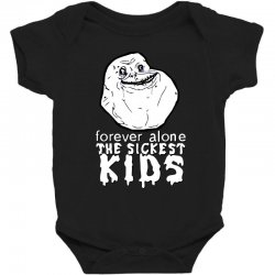 forever the sickest kids forever alone Baby Bodysuit | Artistshot