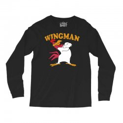 funny wingman Long Sleeve Shirts | Artistshot