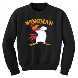funny wingman Youth Sweatshirt | Artistshot