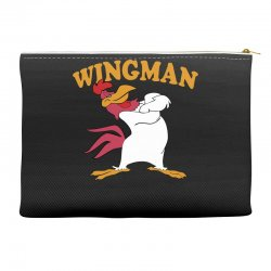 funny wingman Accessory Pouches   Artistshot