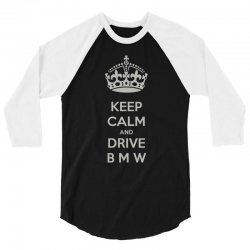funny saying keep calm new 3/4 Sleeve Shirt | Artistshot