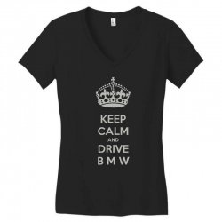 funny saying keep calm new Women's V-Neck T-Shirt | Artistshot