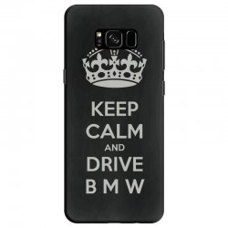 funny saying keep calm new Samsung Galaxy S8 Case | Artistshot