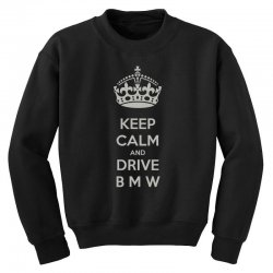 funny saying keep calm new Youth Sweatshirt | Artistshot