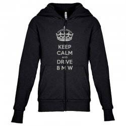 funny saying keep calm new Youth Zipper Hoodie | Artistshot