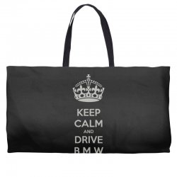 funny saying keep calm new Weekender Totes | Artistshot