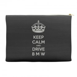 funny saying keep calm new Accessory Pouches | Artistshot