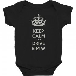 funny saying keep calm new Baby Bodysuit | Artistshot