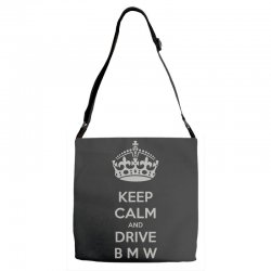 funny saying keep calm new Adjustable Strap Totes | Artistshot