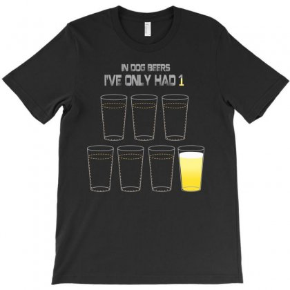 Dog Beers T-shirt Designed By Banapeth