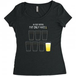 dog beers Women's Triblend Scoop T-shirt | Artistshot
