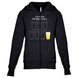 dog beers Youth Zipper Hoodie | Artistshot